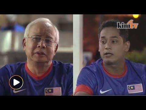 Najib dan KJ 'bergabung' dalam satu video kempen