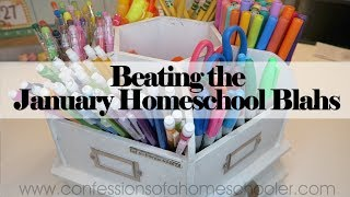 Beating the January Homeschool Blahs // TIP TUESDAY