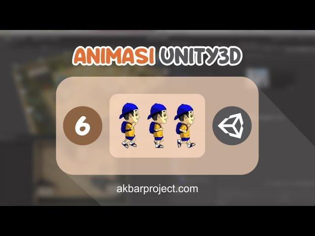 Belajar Membuat Animasi di Unity3D | Tutorial Unity3D untuk Pemula Eps. 6
