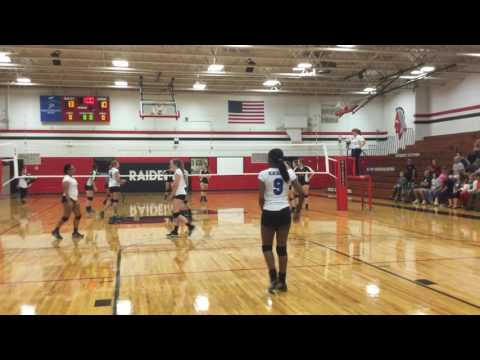 October 11, 2016 Lake Norman Charter JV vs South Point Set 1 (25-17)
