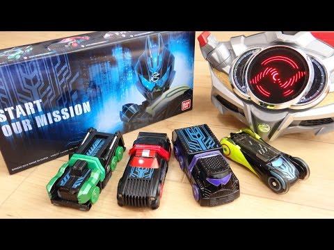 これが未来のシフトカー!プレバン限定 DXネクストシフトカーセット レビュー!シフトネクストビルダー・シフトネクストハンター・シフトネクストデコトラベラー 劇場版仮面ライダードライブ ダークドライブ