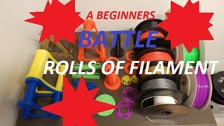 a beginners battle with rolls of filament anet a8