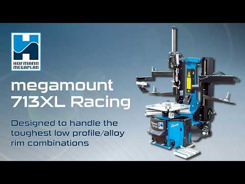 Megamount 713 XL | A Tyre Changer Designed To Handle The Toughest Low Profile/alloy Rim Combinations