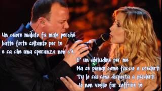 Gigi D'Alessio e Lara Fabian - UN CUORE MALATO + testo