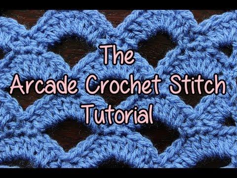How to Crochet * Crochet Stitch Rings of Love Doovi