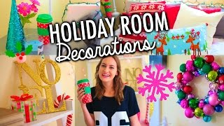 DIY Holiday Room Decorations + Easy Ways to Decorate for Christmas! Thumbnail