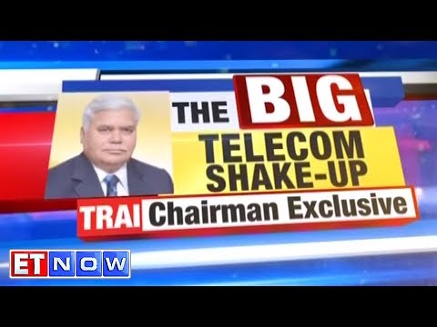 TRAI To The Rescue For Stressed Telcos? | R S Sharma, TRAI Chairman - ET NOW Exclusive Interview