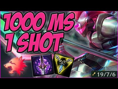 1000+ MS WITH THE NEW RUNES EASY 1 SHOTS! HECARIM JUNGLE GAMEPLAY! - League of Legends