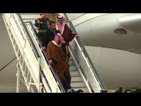 Saudi crown prince arrives in Madrid for visit
