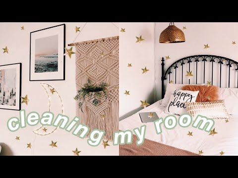 deep cleaning and redoing my room 2019 *satisfying*