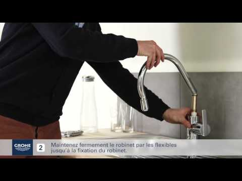 Guide d\'installation - Mitigeur Evier Douchette Extractible ...