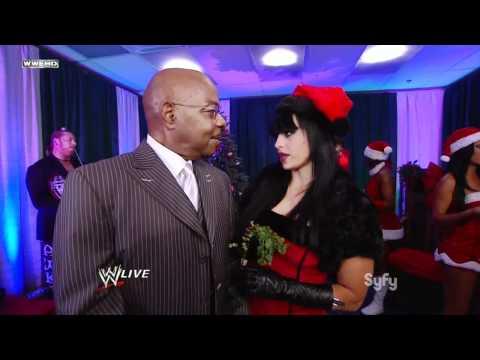 720pHD - WWE SmackDown 11/29/11 Kaitlyn & Aksana Backstage Segment