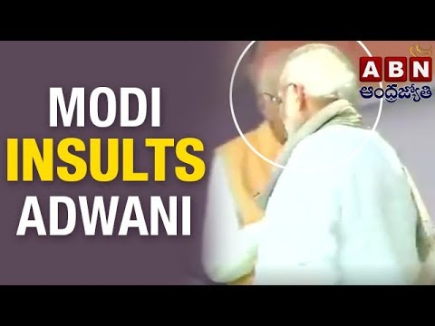 PM Narendra Modi insults LK Advani on stage | Weekend Comment by RK