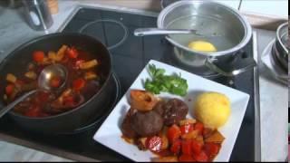 Rinderbeinscheibe - Kochen mit Freddy