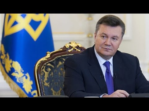 UKRAINE President Yanukovych Statement - 'I have No Intention of Leaving Ukraine'