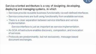 SEI Webinar Series: Service Oriented Architecture: A Quality Attribute Perspective
