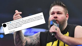 Kevin Owens DESTROYS SmackDown Wrestler On Twitter, WWE Star Granted Release