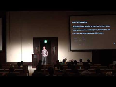 CordaCon Tokyo 2018 - Mike Hearn, R3. Tech Talk