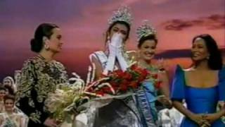 Miss Universe 1994 - Crowning Moment