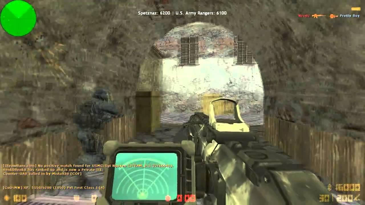 Modern Warfare 2 Mod for CS 1 6