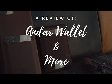 Review of Andar Wallet & More!