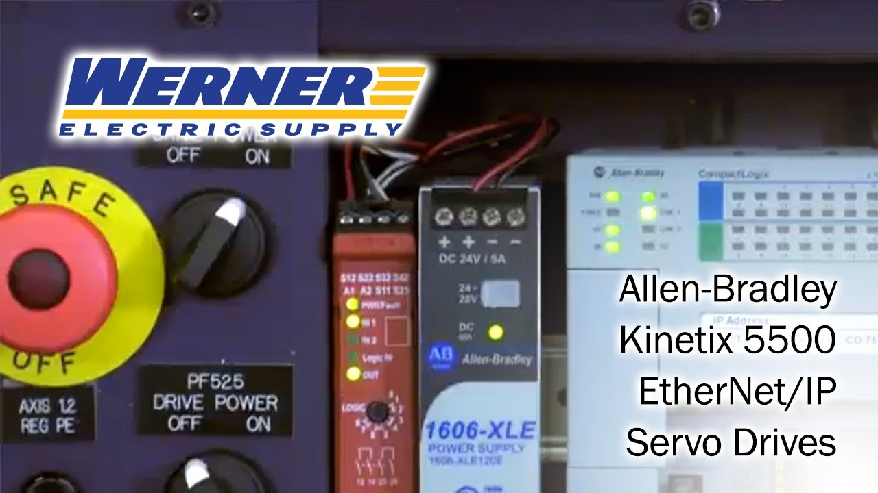 Allen-Bradley Kinetix 5500 EtherNet/IP Servo Drives