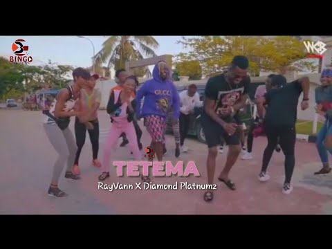 RayVany ft Diamond Platnumz - TETEMA (UnOfficial Video) thumbnail