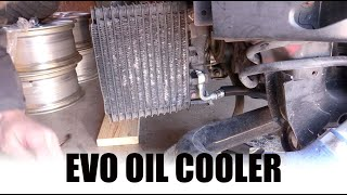 EVO Oil Cooler Lines // OEM evo 8/9 oil cooler replacement
