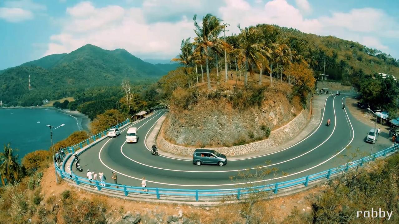 Tempat wisata terkenal di Lombok island. - YouTube