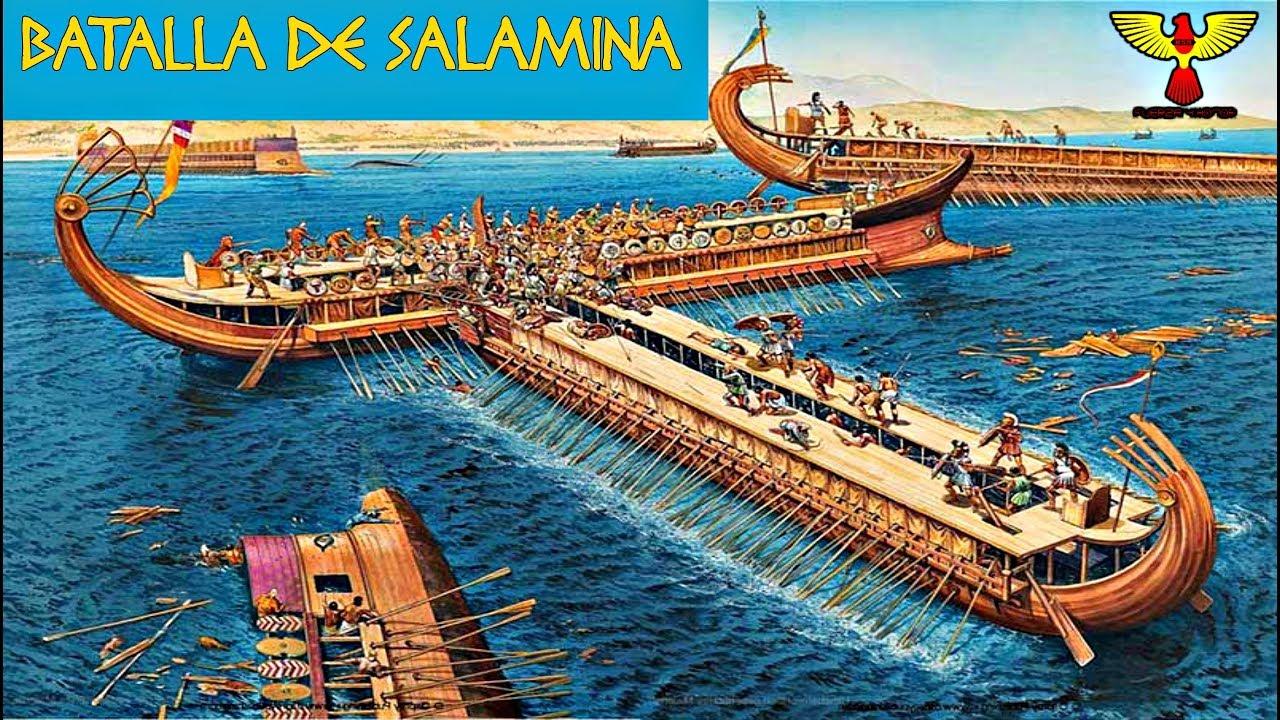 Resultado de imagen de batalla de salamina