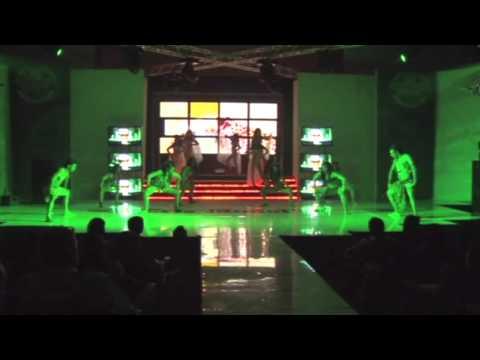Cris Model's Agency Baile Africa (Graduacion de Modelos 2012)