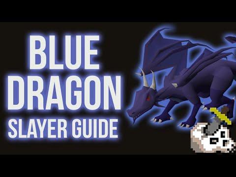 OSRS Blue Dragons Slayer Guide 2007 - Range/Magic/Melee Setups W/ Safe Spots (Dec 2018)