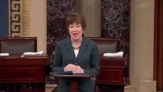 Senator Collins Speaks About Manchin-Toomey Compromise