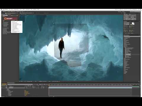 Green Screen Compositing Using After Effects