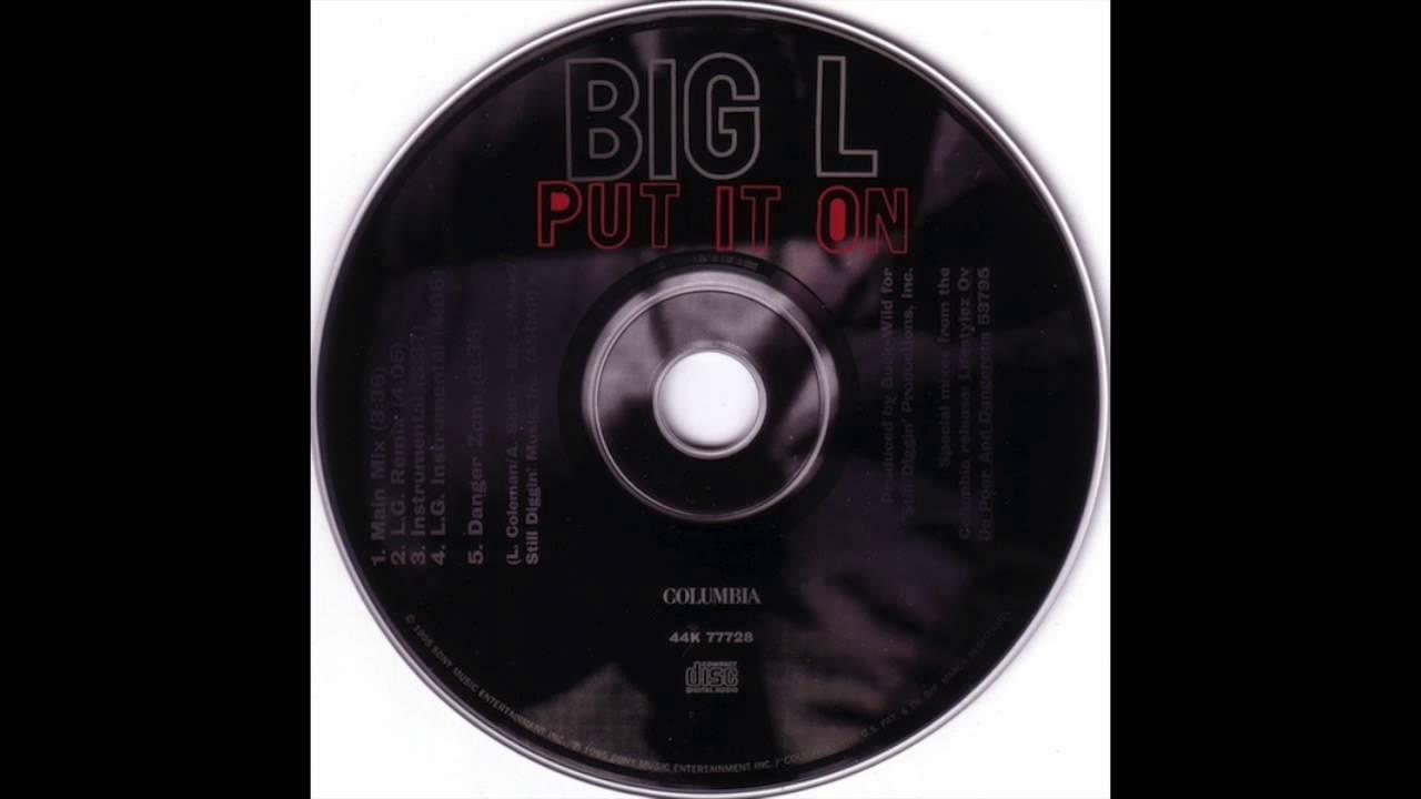 Big L - Put It On (Instrumental)