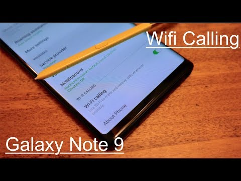 How to Set up Wifi Calling: Galaxy Note 9