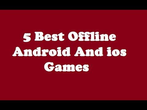 5 BEST OFFLINE ANDROID AND IOS GAMES PART 5 || 2018 ||