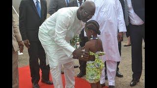 President Weah Attends the Inauguration of H. E. Julius Maada Bio, President of Sierra Leone