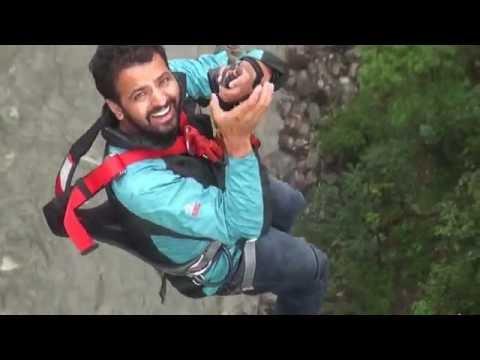 Basu Panday Adventures- Swing at 160 meter !