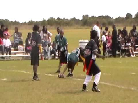 Sean Williams flag football game