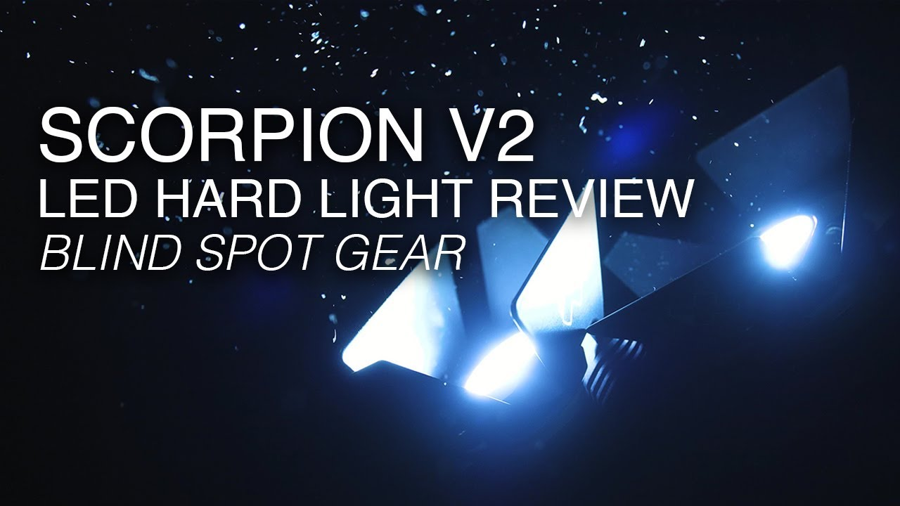 Scorpion V2 LED Hard Light from Blind Spot Gear | Hands-On Review