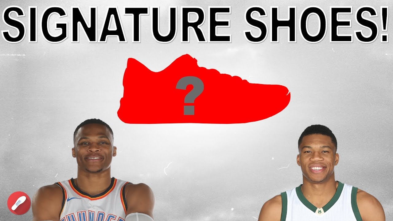 3e4a246bbe1 Russell Westbrook   Giannis Antetokounmpo Getting Signature Shoes! + Update  on next Kobe!