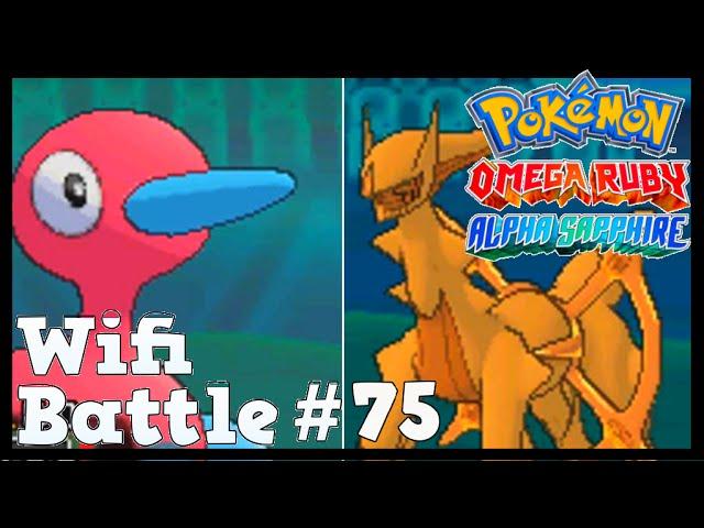 Pokemon ORAS / X&Y Wifi Battle #75: Porygon2 vs Arceus (Omega Ruby & Alpha Sapphire)