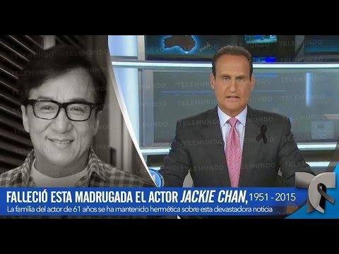 EL FAMOSO ACTOR JACKIE CHAN , FALLECIÓ A LOS 61 AÑOS - YouTube