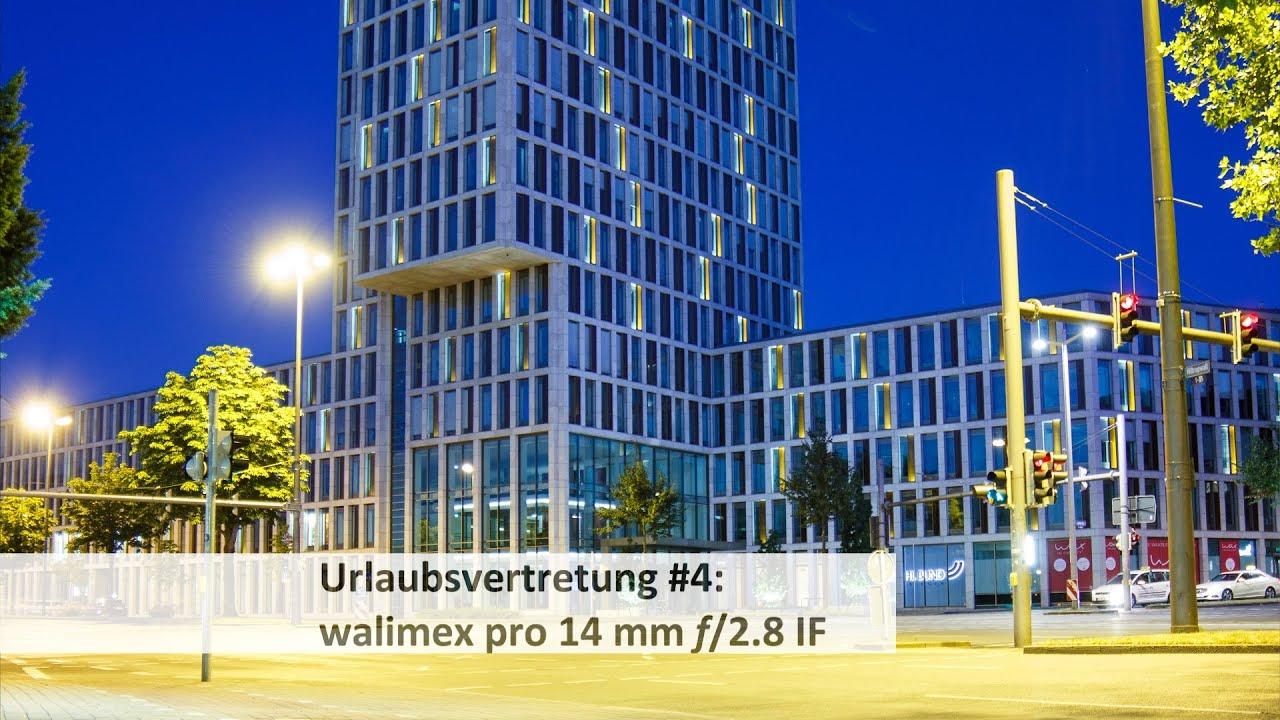 walimex Pro 14 mm f/2.8 IF - Vollformat-Weitwinkel-Objektiv im Test ...
