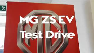 MG ZS EV Test Drive