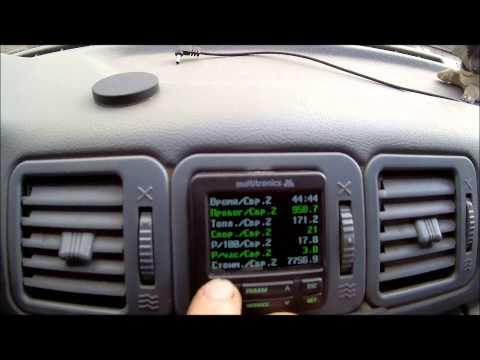 видео: Бортовой компьютер multitronics c-580