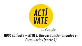 HTML5: Nuevas funcionalidades en formularios (parte 1)