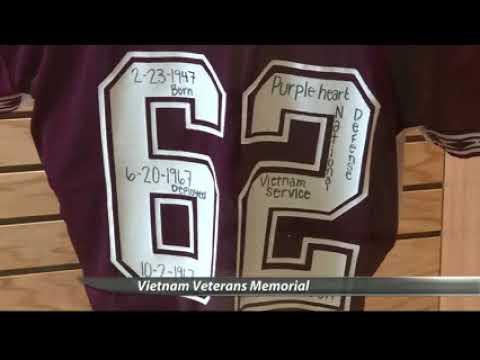 KMOT: Senator Heitkamp & Bismarck High School Honor Vietnam Veterans