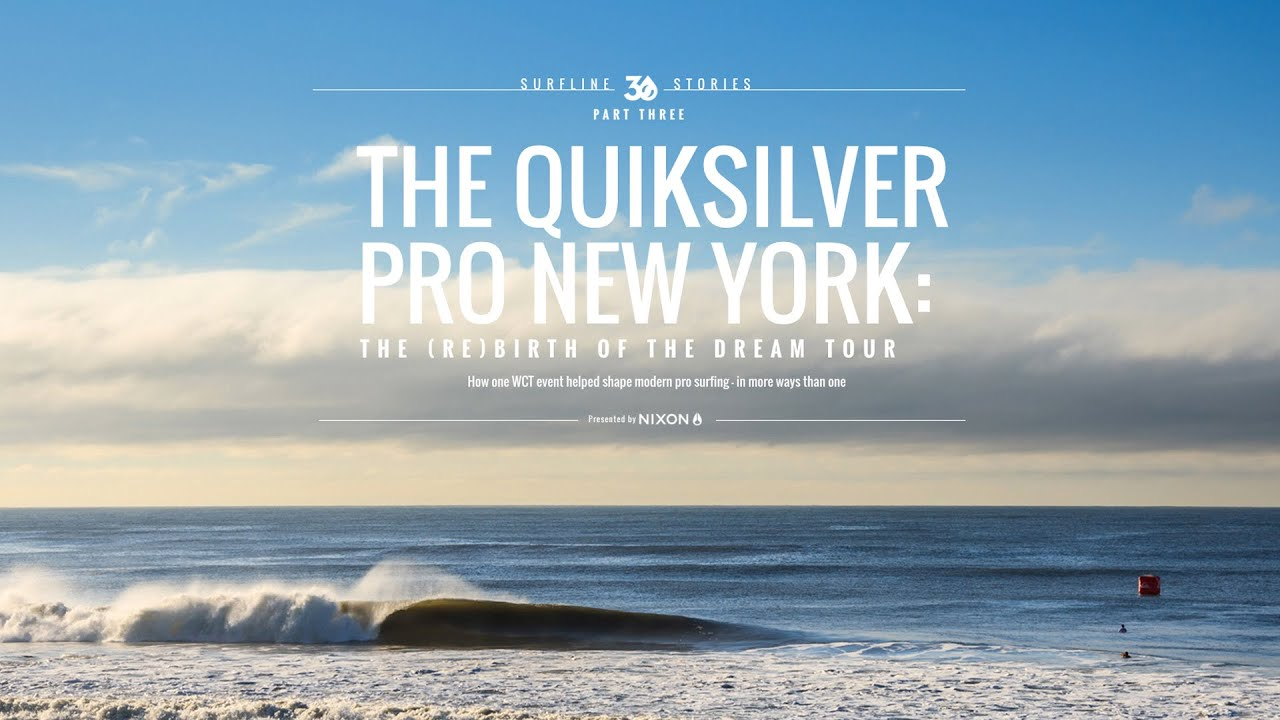 The Quiksilver Pro New York